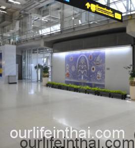 Зона прилета аэропорта Суварнабхуми