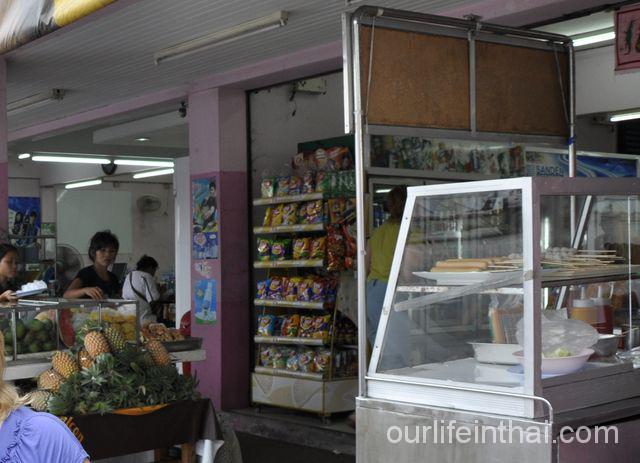 Рыночек по пути в аэропорт Суварнабхуми